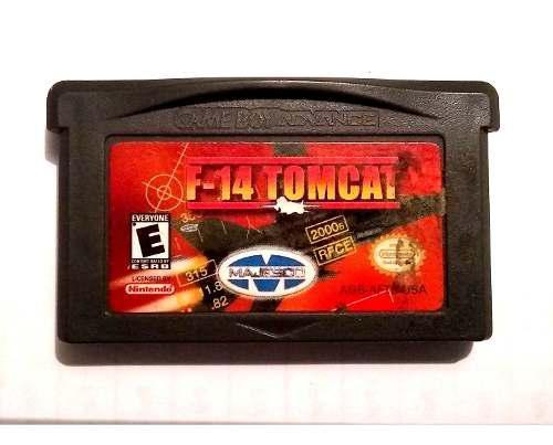 F-14 Tomcat Pará Game Boy Advance Sp Gba Original