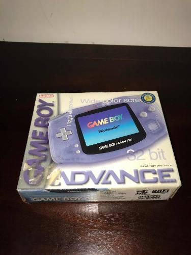 Gameboy Advance Glacier !!! En Caja Completo