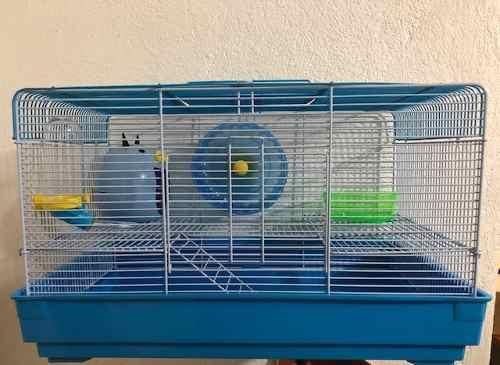 Jaula Equipada Para Hamster (45.5x28.5x27cm)