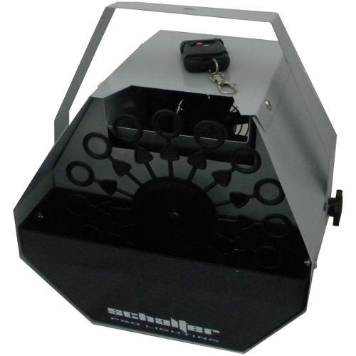 Maquina De Burbujas Con Control Remoto Inalambrico Schalter