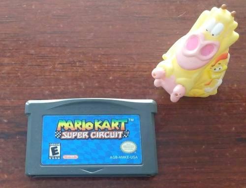 Mario Kart Super Circuit Game Boy Advance Gba