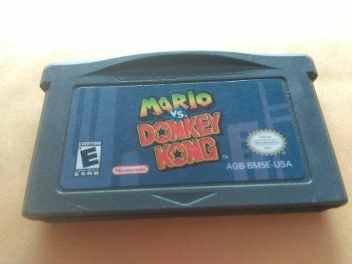 Mario Vs Donkey Kong Game Boy Advance Nintendo Gba