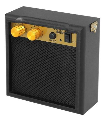 Mini Amplificador De Guitarra Portátil 5w Con 3,5 Mm