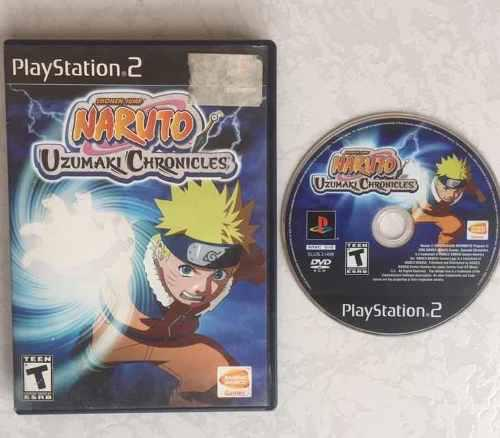 Naruto Uzumaki Chronicles Juegazo Para Tu Ps2 Chécalo