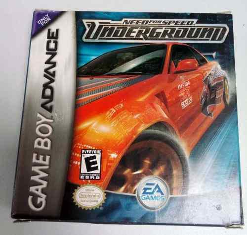 Need For Speed Underground Game Boy Advance Gba Retromex