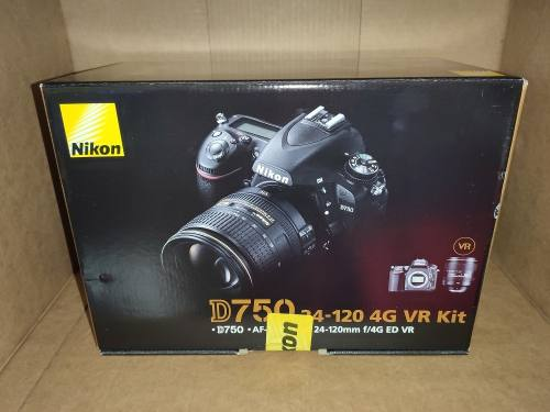 Nikon D750 Kit  Mm F4 N Ed Vr