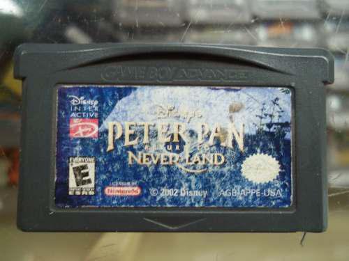 Peter Pan Return To Neverland Game Boy Advance Nintendo Gba