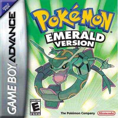 Pokemon Esmeralda Game Boy Advance Caja Y Manual