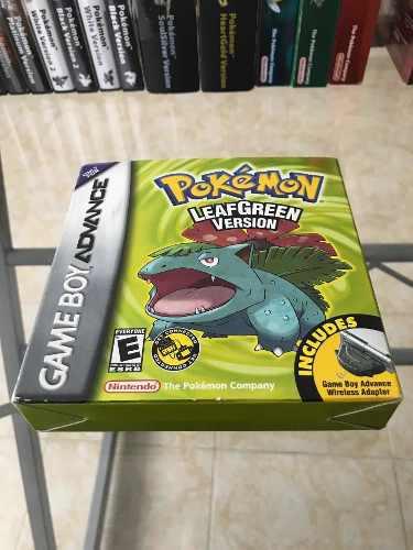 Pokemon Leaf Green Nintendo Game Boy Advance!!!