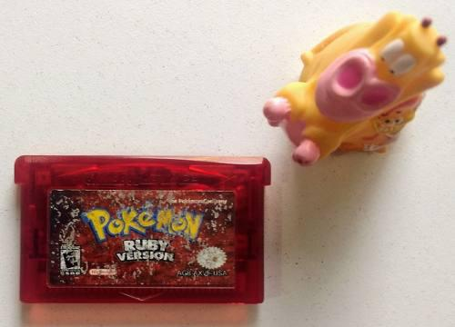 Pokemon Ruby Game Boy Advance Gba * Mundo Abierto Vg *