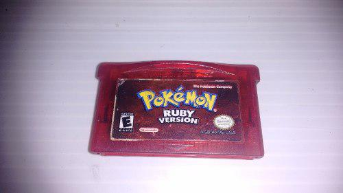 Pokemon Ruby Version Para Nintendo Game Boy Advance,checa