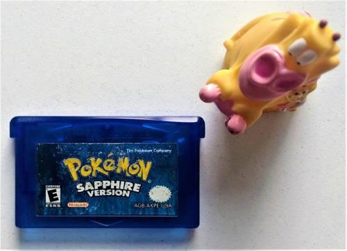 Pokemon Sapphire Game Boy Advance Gba * Mundo Abierto Vg *