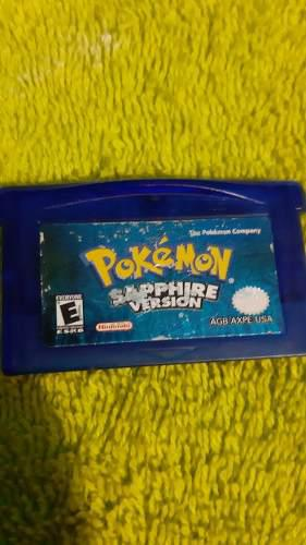 Pokemon Sapphire Game Boy Advance Original (solo Cartucho)