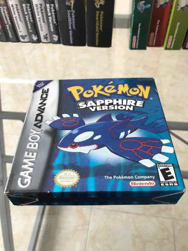 Pokemon Sapphire Nintendo Game Boy Advance!!!