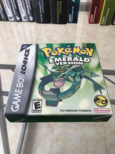 Pokémon Emerald Version Nintendo Game Boy Advance!!!
