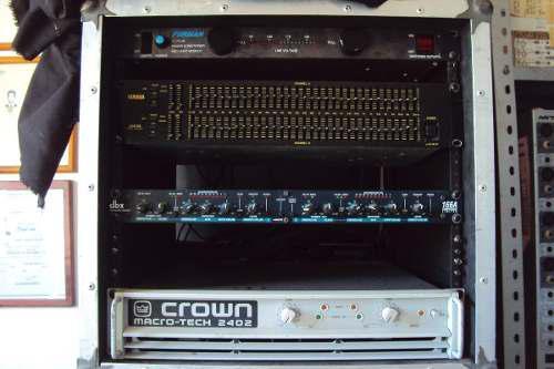 Rack Con Amplificador Completo Para Sistema A Full Range