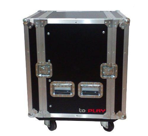 Rack De 16 Espacios Hexadril Amplificadores, Abedul Uso Rudo