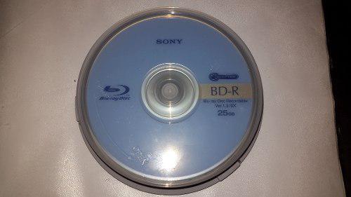 Sony Blu Ray Disc Bd - R 6x 25gb Ver1.3 50pcz