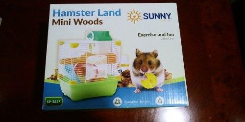 Sunny Jaula Hamster Land Mini Woods Spx18.3x30.1 Cm