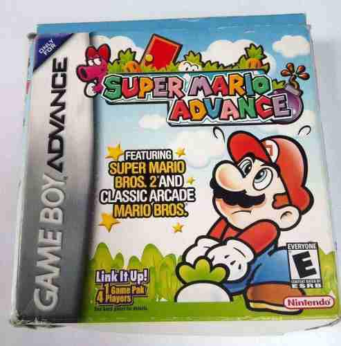 Super Mario Advance Game Boy Advance Gba Completo Retromex