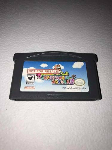 Super Mario Advance Game Boy Advance!!! Not For Resale Nfr
