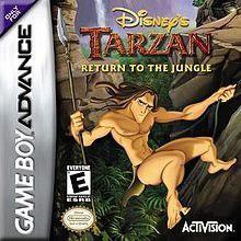 Tarzan Return Of Jungle Game Boy Advance Completo