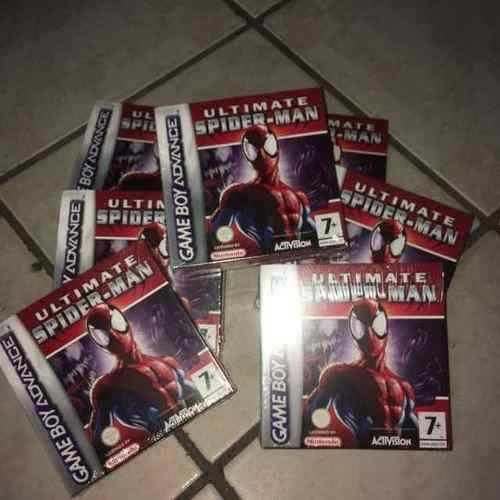 Ultimate Spider Man Game Boy Advance Sellado Nuevo