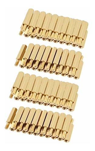 Uxcell 100pcs M3 16 6mm Female Male Thread