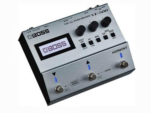 Ve-500 Boss Procesador De Efecto Vocal Performer Oferta