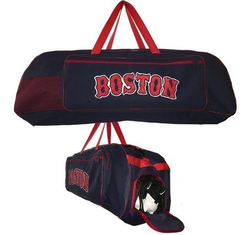 Bonita Mochila Batera Beisbol Grande Boston Con Zapatera