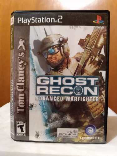 Ghost Recon Advanced Warfighter (con Manual) Ps2 Od.st