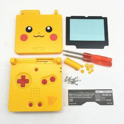 Kit Completo Carcasa Game Boy Advance Sp Gba Sp + Envío