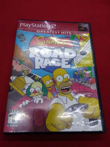 * Longaniza Games * Ps2 The Simpsons Road N Rage
