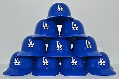 Lote De 10 Cascos Para Helado De Los Dodgers Beisbol 8oz