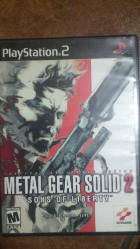 Metal Gear Solid 2 Para Playstation 2
