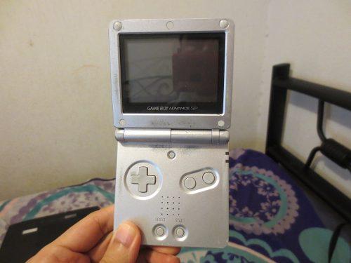 Nintendo Game Boy Advance Sp Gba Con Juegos Y Cargador