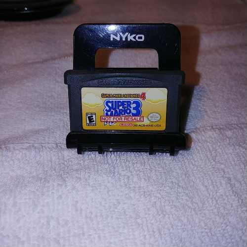 Nintendo Gameboy Advance Super Mario Bros 3 Not For Resale