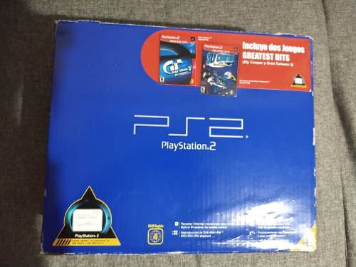 Play Station 2 Fat Consola En Caja De Uso (leer