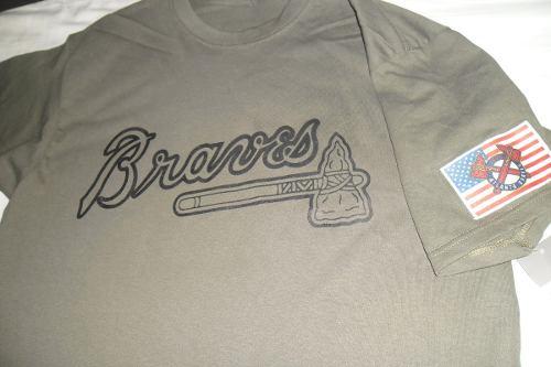 Playera Mlb Atlanta Braves Jersey Para Papa