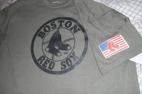 Playera Mlb Camo Boston Red Sox Jersey Camo