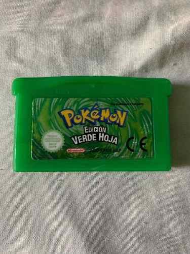 Pokemon Leaf Green Original En Español