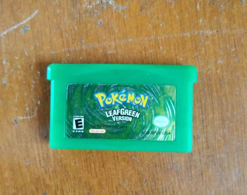 Pokemon: Leafgreen Game Boy Advance Edición Especial