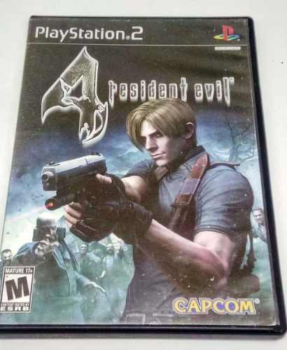 Resident Evil 4 Playstation 2 Ps2 Capcom Retromex Tcvg