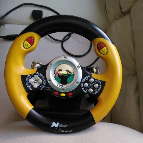 Volante Para Ps2 O Playstation 2 Nitro Wheel