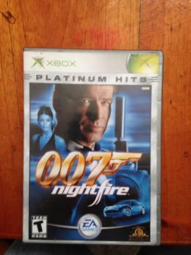 007 Nightfire Xbox Clásico