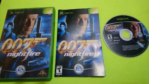 007 Nightfire Xbox Clásico Primera Edición