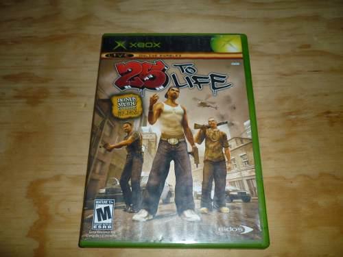 25 To Life Xbox Clasico