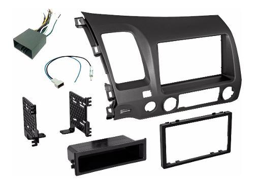 Base Estereo Frente Kit 1 O 2 Din Honda Civic Año