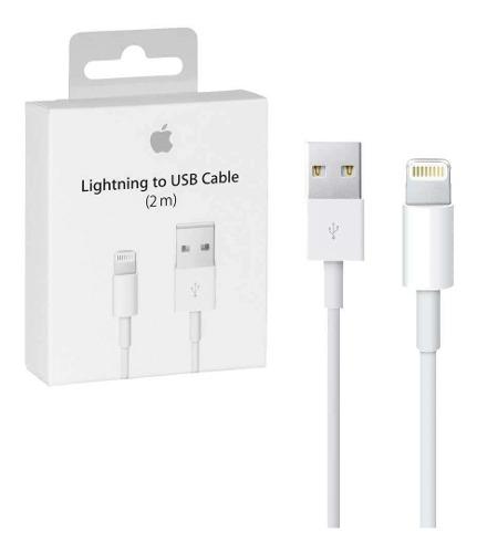 Cable Cargador Original Lightning 2m iPhone  X iPad