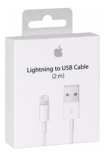 Cable Lightning 2m iPhone 6, 7, 8, X, iPad Envío